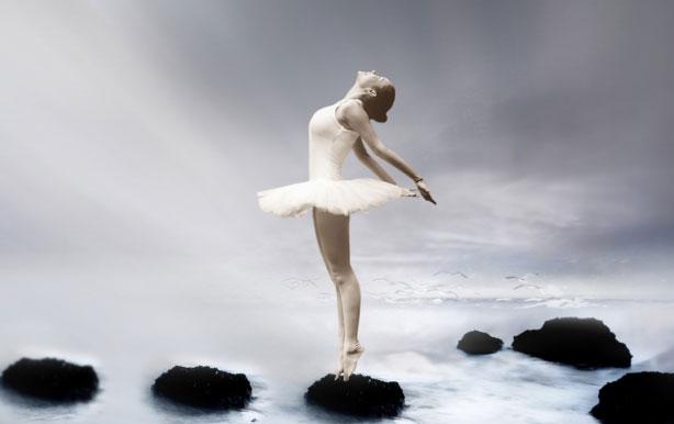 Deepak Chopra bailarina