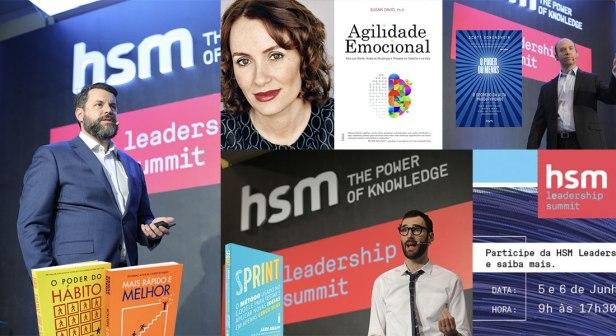 hsm leadership summit Leia um livro