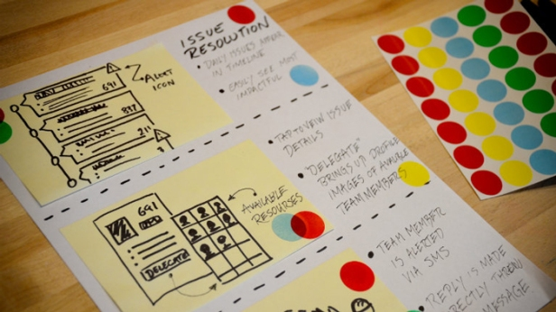 google design sprint storyboard
