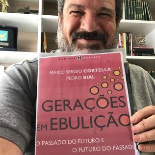 Mario sergio cortella lança novo livro