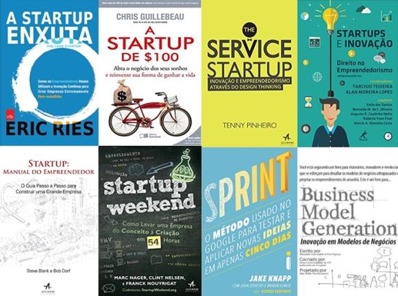 livros sobre startups e empreendedorismo