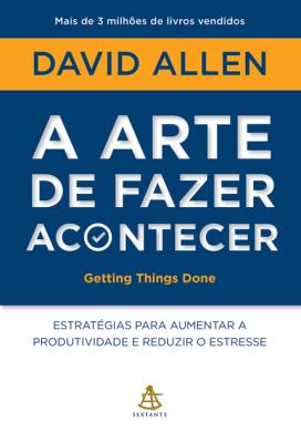 livro sobre produtividade a arte de fazer acontecer